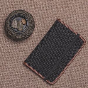 Passport Holder - Jet Black