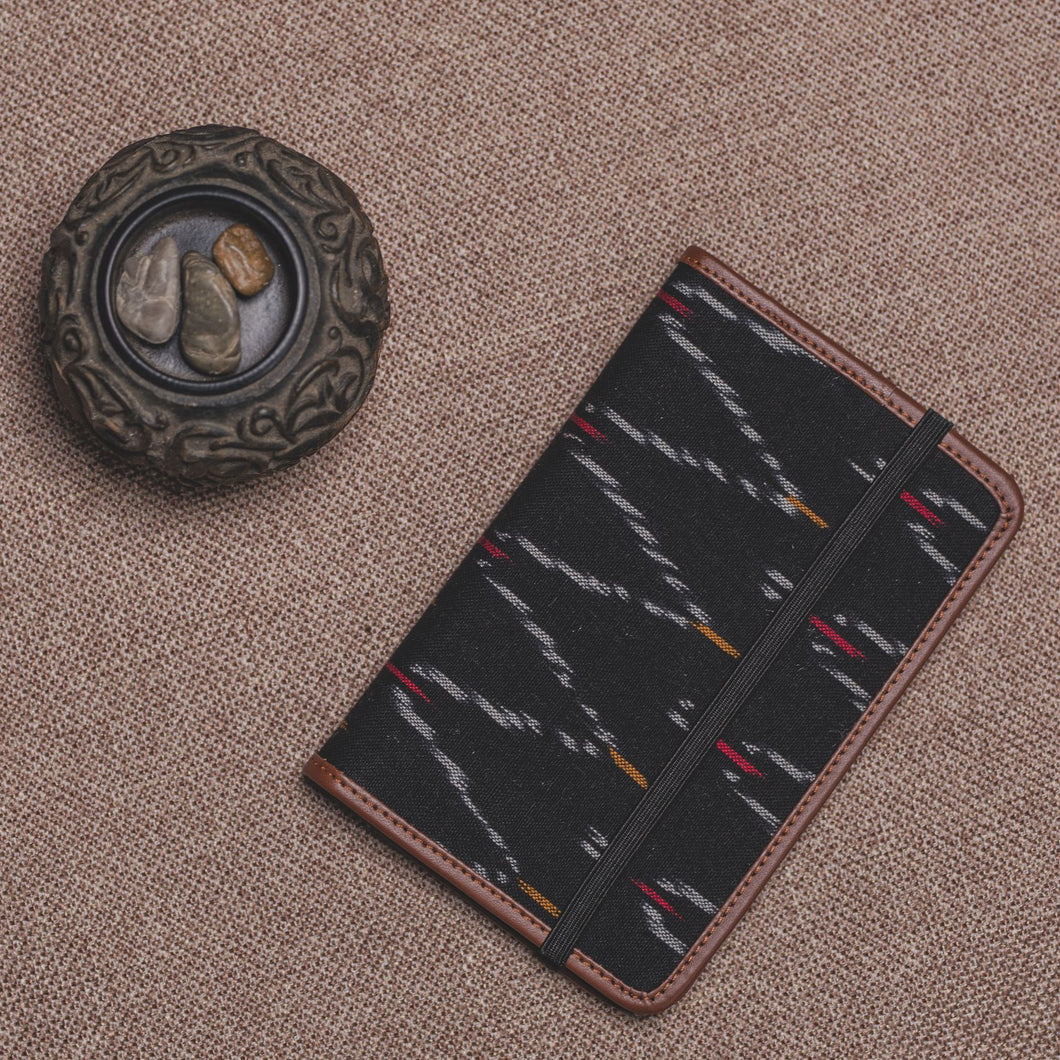 Passport Holder - Ikat African Wave