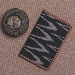 Passport Holder - Ikat Wave