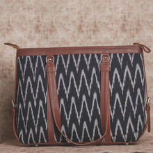 Load image into Gallery viewer, Ikat Wave Women's Office Bag