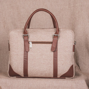 Messenger - Beige Laptop Bag