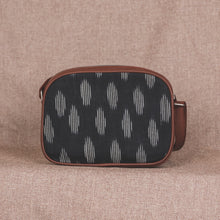 Load image into Gallery viewer, Zouk Ikat Black Striped Sling Bag
