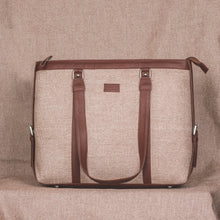 Beige Women's Office Bag
