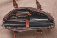 Load image into Gallery viewer, Messenger - Beige Laptop Bag