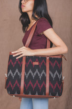Load image into Gallery viewer, Ikat Black SeaOptics Women's Office Bag