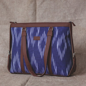 Blue Crystal Women's Office Bag