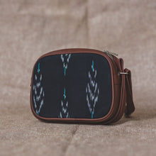 Load image into Gallery viewer, Ikat Peacock Feather Motif Sling Bag