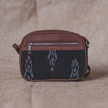 Load image into Gallery viewer, Ikat Red Feather Sling Bag