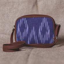 Load image into Gallery viewer, Blue Crystal Sling Bag