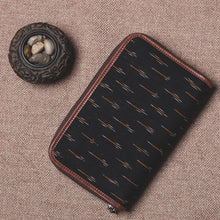 Load image into Gallery viewer, Classic Zipper Wallet - Ikat GreRe