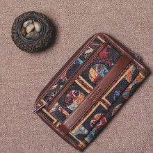 Load image into Gallery viewer, Classic Zipper Wallet - African Art