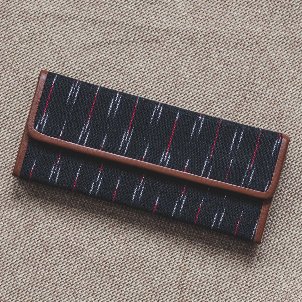 Ikat GreRed - Foldaway Eyewear Sunglasses Case
