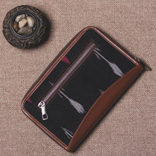 Load image into Gallery viewer, Ikat RedWhite Arrow Chain Wallet