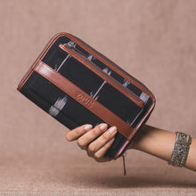 Load image into Gallery viewer, Classic Zipper Wallet - Ikat Arrow