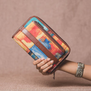 Classic Zipper Wallet - Abstract Amaze