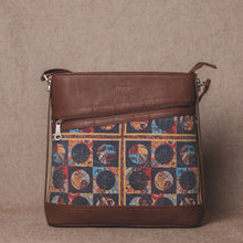 Load image into Gallery viewer, Zouk African Art Bucket or Sling Bag - Front View