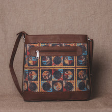 Load image into Gallery viewer, Zouk African Art Bucket or Sling Bag - Back View