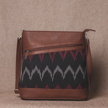 Load image into Gallery viewer, Ikat Black SeaOptics Bucket Sling Bag