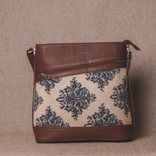 Load image into Gallery viewer, Mughal Motif Bucket Sling Bag