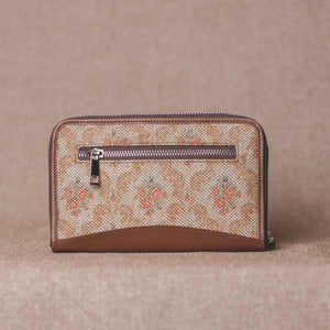 Wallets for girls - Beige Petal - Back