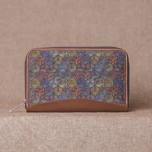 Multi Crystal Print Chain Wallet