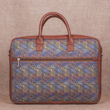 Load image into Gallery viewer, Zouk Multi Crystal Print Laptop Bag - back