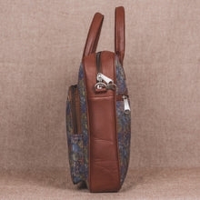 Load image into Gallery viewer, Zouk Multi Crystal Print Laptop Bag - side