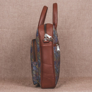 Zouk Multi Crystal Print Laptop Bag - side