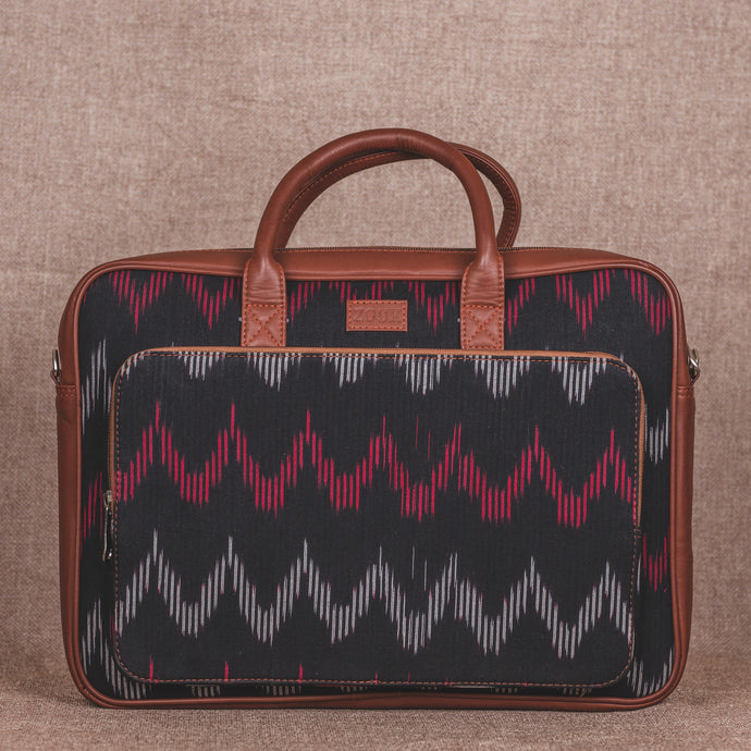 Ikat Black SeaOptics Laptop Bag