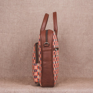 Geometric Crystal Laptop Bag - Side