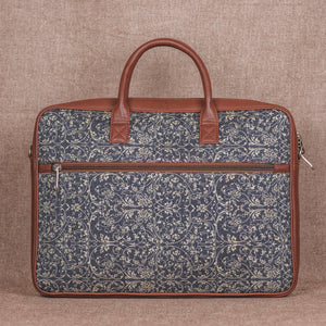 Lattice Lace Laptop Bag - Back