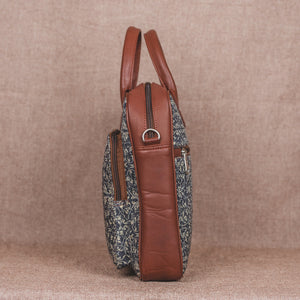 Lattice Lace Laptop Bag - Side