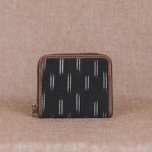 Load image into Gallery viewer, Ikat Black Dash Women's Mini Wallet