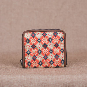 Geometric Crystal Women's Mini Wallet