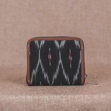 Load image into Gallery viewer, Ikat Black Multi Maze Women's Mini Wallet