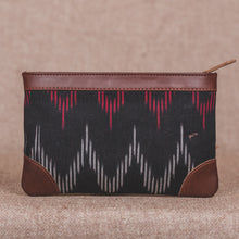 Load image into Gallery viewer, Ikat Black SeaOptics Multipurpose Pouch