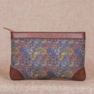 Multi Crystal Print Multipurpose Pouch