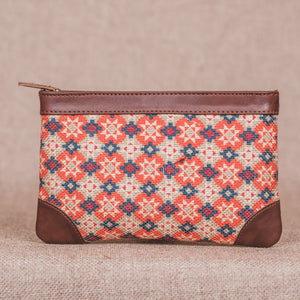 Geometric Crystal Multipurpose Pouch