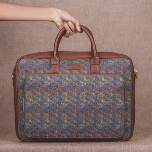 Zouk Multi Crystal Print Laptop Bag - front