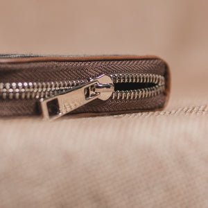 Classic Zipper Wallet - Ikat Arrow