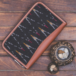 Ikat African Wave - Women's Office Bag & Chain Wallet Combo