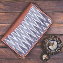 Load image into Gallery viewer, Ikat Slate Grey Chain Wallet