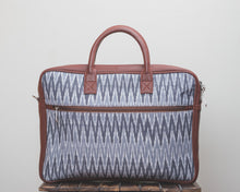 Ikat Slate Grey Laptop Bag