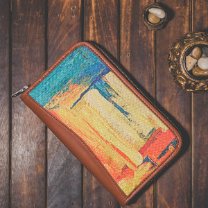 Female Wallet AbstractAmaze Front