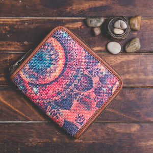 Space Chakra Women's Mini Wallet