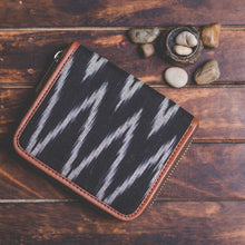 Load image into Gallery viewer, Ikat Wave Women's Mini Wallet
