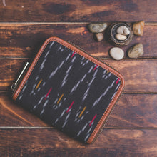 Zouk Women's Wallet - Ikat African Wave