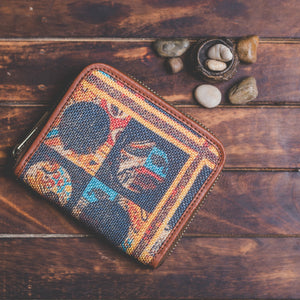 Zouk Women's Wallet - African Art