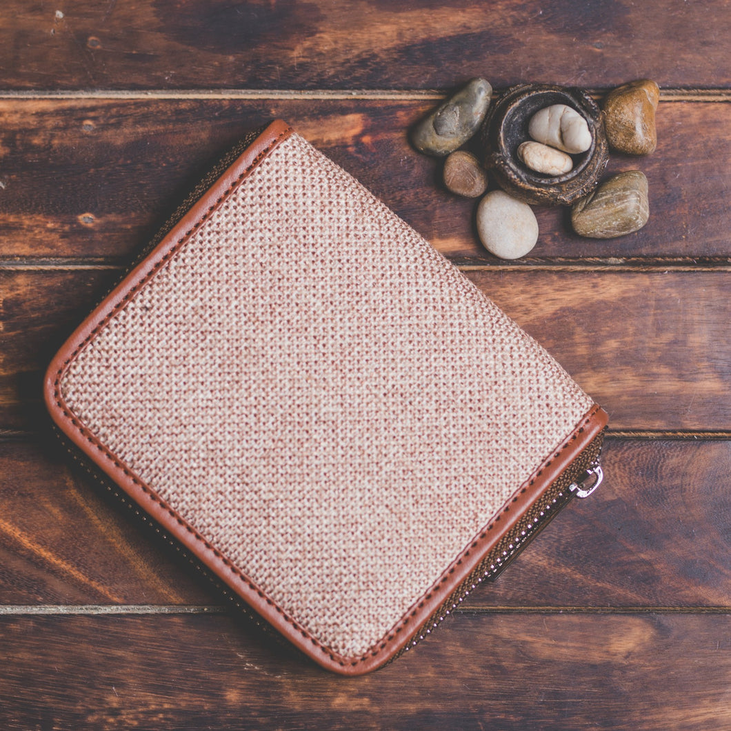Zouk Women's Wallet - Beige