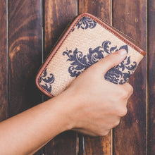 Load image into Gallery viewer, Mughal Motif Women's Mini Wallet